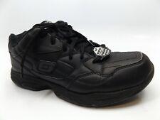 Skechers Felton Slip Resistant Work Comfort Shoes, Men's SZ 10.0 M, Black, 14485