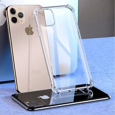 for iPhone 11 Pro Case (2019) Hybrid Soft Grip Glossy Finish Clear Back Panel