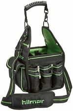 Hilmor Technician Electrician Hand Tool Organizer Carry Bag Tote w/ 27 Pockets