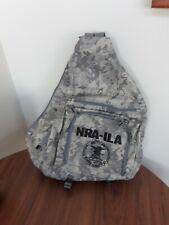 bundle pack Nra Backpack, Green Nra Blanket, Digital camo Carry-on bag