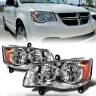 FOR 08-16 Chrysler Town&Country 11-19 Dodge Grand Caravan Headlights Headlamps  for sale