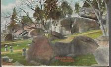 Early 1900's Unposted PC, Devils Den  Gettysburg Battlefield