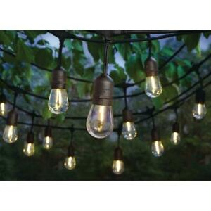 Hampton Bay 24-Light Indoor/Outdoor 48 ft. String Light