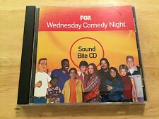 RARE PROMO FOX Wedensday Comedy Night SOUND BITES CD King of the Hill, 70's Show