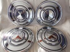 SET OF (4) 1973-74 FORD TRUCK CHROME HUBCAPS / DEL-MET CORP.