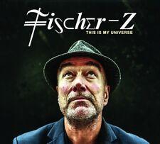 FISCHER-Z - THIS IS MY UNIVERSE  CD+DVD NEU