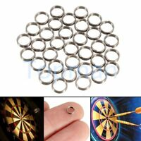 50Pcs Metal Darts Shaft / Stems / Flight Grip / Gripper Springs / Rings Replace