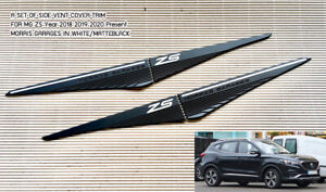 Morris Garages Side Vent Door Cover Trim MG ZS 18-21 Present Matteblack White