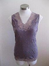 Ladies Purple Katies Top Size S