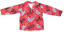 Marvel Ultimate Spider-Man Boy's Pajama Button Down T-Shirt Size 3 NEW