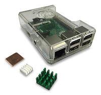 GorillaPi Raspberry Pi 3 & Raspberry Pi 2 Case Model B (and B+) & Heatsink Pack