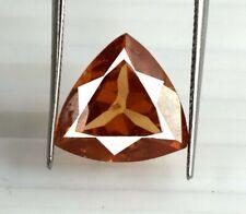 Trillion Pakistan Brown Axinite 7.40 Carat Gemstone 100% Natural Certified V8235