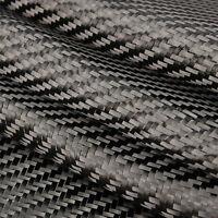 3K 200gsm Fibre de Carbone Tissu Sergé Twill Armure Tissage Carbonique 101x51cm