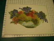Original ROSE SUSLOVICH ART - painted cut paper on board/paper unsigned
