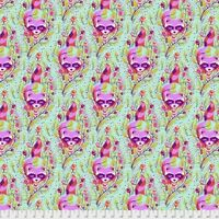 Tula Pink PWTP037 All Stars Racoon Poppy Cotton Fabric By Yard