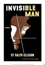 INVISIBLE MAN New POSTER of vintage book cover, A1 size