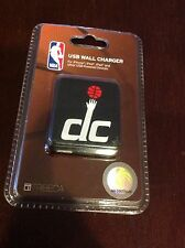 NEW UNOPENED Package NBA Washington DC Wizards USB Wall Charger Iphone, Ipad