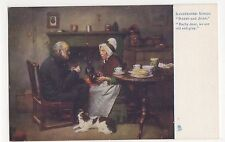 Darby & Joan, Illustrated Songs, Tuck 1152 Postcard #2, A716