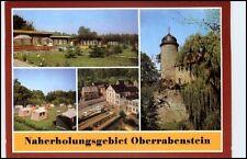 KARL-MARX-STADT Chemnitz Mehrbild-AK DDR Naherholungsgebiet Oberrabenstein