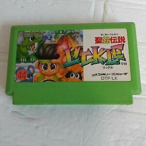 Seirei Densetsu Lickle Little Samson Nintendo Famicom TAITO Corporation Used
