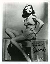 Lauren Bacall Psa Dna Coa Hand Signed 8x10 Photo Autograph Authentic