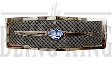 1974 Chevy Caprice chrome grill triple weave mesh grille 1 piece