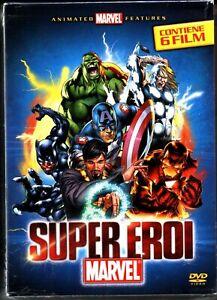 SUPER EROI MARVEL. 6 DVD in Italiano