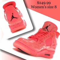 Air Jordan retro 4 NRG (women size 8) AQ9128 600