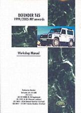 Land Rover Defender Td5 1999/2006 My Workshop Manual: Workshop Ma...