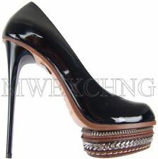 Gianmarco Lorenzi High Heels Stiletto Leather Pumps EU 37 Womens Shoes