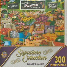 "Signature Collection Farmer's Market Puzzle - 300 pc - 21"" x 15"""