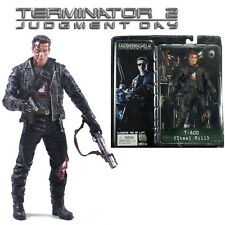 NECA Terminator 2 Judgment Day T-800 Steel Mill PVC Figure Action Figurines Toy