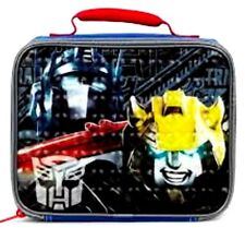 "Transformers Optima Prime 9.5"" Insulated Lunch Bag Lunchbox-Brand New!"