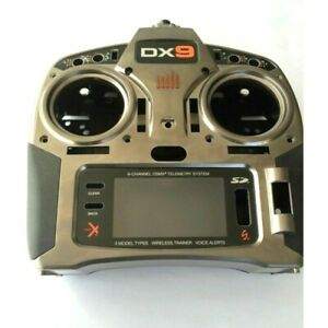 Spektrum DX9 Chassis Case w side grips labels