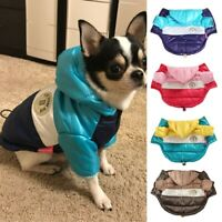 Winter Pet Clothes Waterproof Hooded Dog Coat Jacket Warm Puppy Pet Clothing/*`