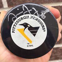 Jaromir Jagr AUTOGRAPHED Signed PITTSBURGH PENGUINS LOGO PUCK Autograph Auto NHL