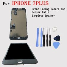 For iPhone 7 Plus LCD Touch Screen Digitizer Assembly Black Speaker&Camera