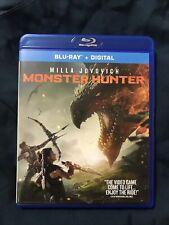 Monster Hunter (Blu-Ray+Digital) New