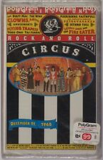 ROLLING STONES: Rock and Roll Circus SEALED Indonesia Import Cassette Tape
