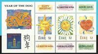 Irlanda De 1994 Postfrisch Bloque 11 MiNr.845-847 -grußmarken: Año Del Perro