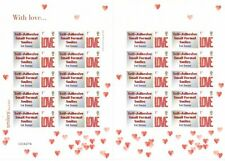 GB 2005 - Self Adhesive Small Format Smilers - With Love - TS29b