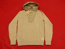 NEW CHARLES CHEVIGNON Knitted Casual Pullover Alpine Beige Hood Size: S NEW