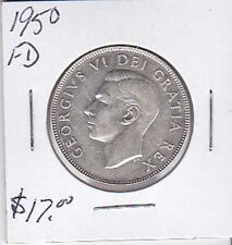 1950FD 50 cents Canada