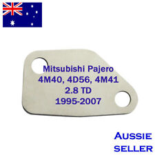 EGR Blanking Plate for 216 Mitsubishi Pajero 4M40, 4D56, 4M41 2.8 TD 1995-2007