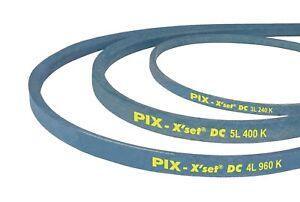 PIX V-Belt with aramid cord - Section 3L Sizes  3L 320 - 3L 420 UK SELLER