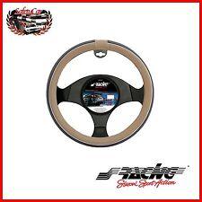 CopriVolante Simoni Racing Eco-Pelle Grigia - Trophy 6 CVT/6GR diametro 37/39 cm