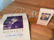 Moments by Priscilla Presley (SIGNED) Eau de Toilette 1.7oz with Box & Bag