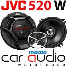 Mazda 2 2003 Onwards JVC 13cm 520 Watts Rear Door Car Speakers & Brackets