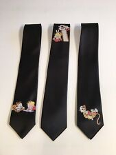 Calvin And Hobbes 3 Neckties, Fun And Cool, 3 Ties
