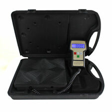 220 Lbs Electronic Refrigerant Charging Digital Weight Scale With Case for HVAC